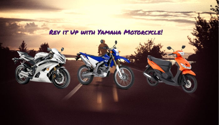 Rev it Up with Yamaha Motorcycle!