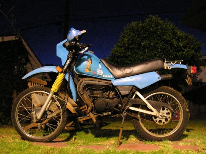 Yamaha DT50M